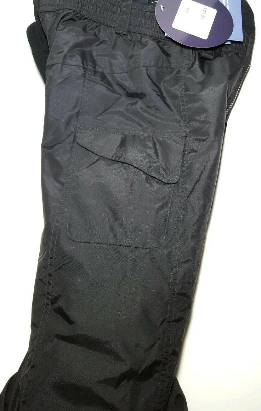 Boys Bib Insulated Overalls Water Snowboard Pants NEW