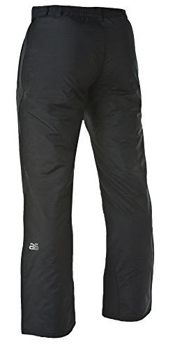 Arctix Side Zip Insulated Pants, 4X-Large, Black