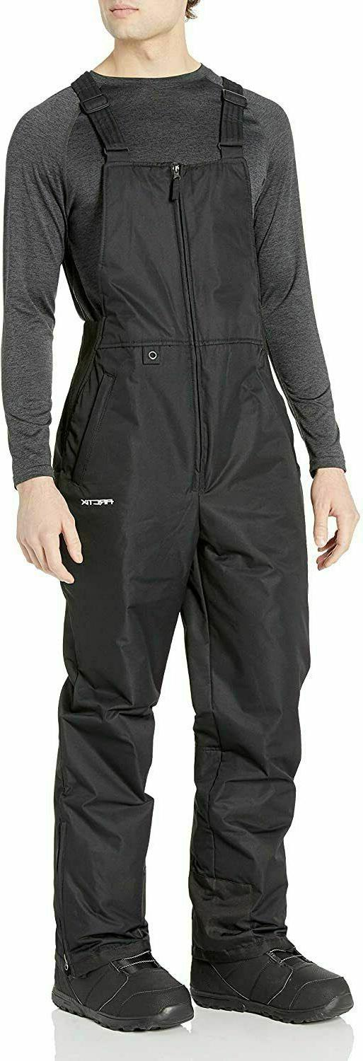 Arctix Men's Essential Bib Overall, Black, Medium/Tall