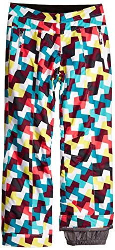 Obermeyer Girls Elsie Pant, X-Small, Sugar-Rush Print