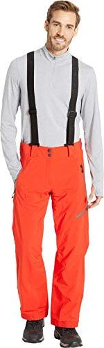 force suspender pants red