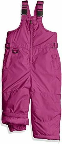 iXtreme Outfitters Girls' Big Snowbib, Berry, 12/14