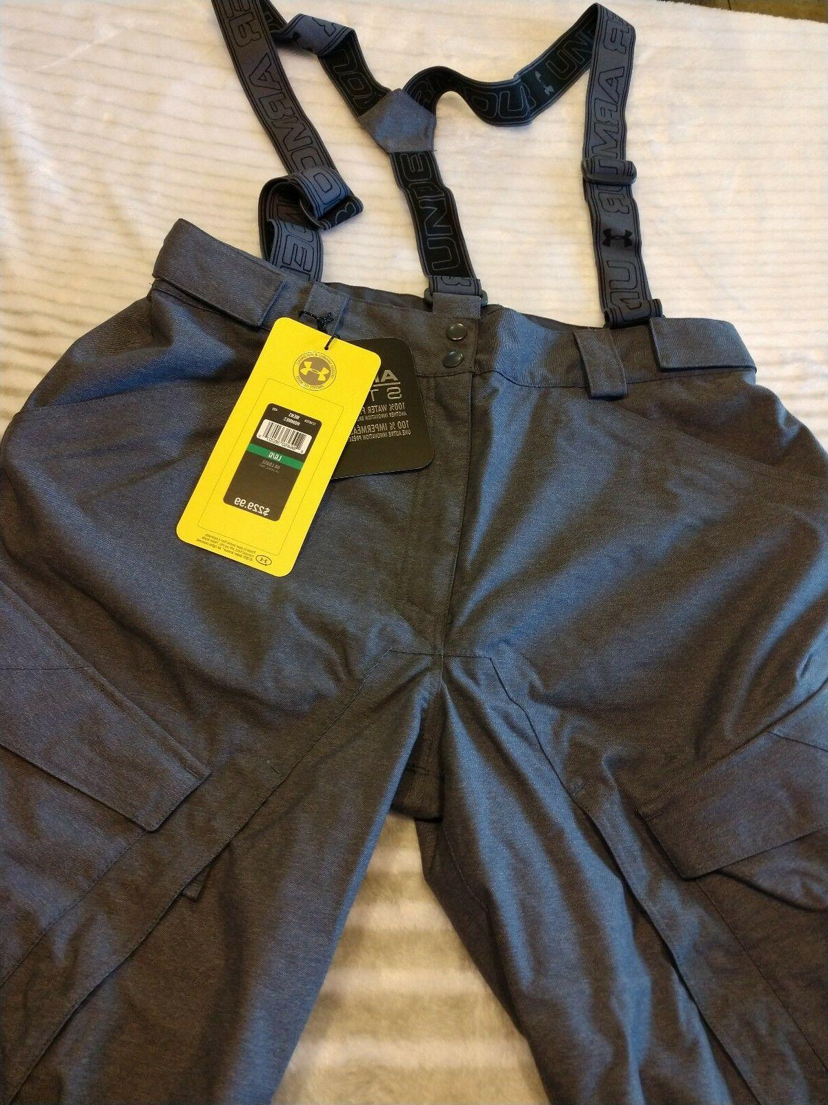 UNDER ARMOUR Gray LARGE JACKAL Suspender 499