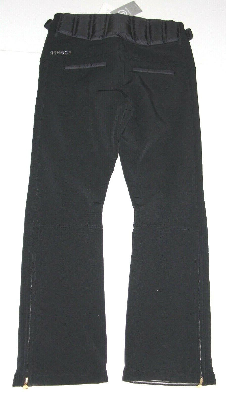 Bogner Hailey Ski Pant EU 6 Small - Black NEW