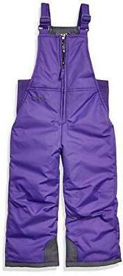 Arctix Infant-Toddler Chest High Snow Bib Overalls, Purple