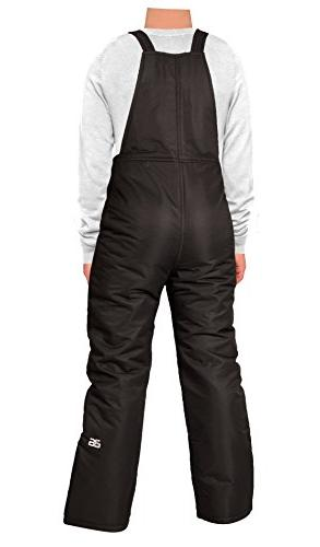 Arctix Youth Overalls Bib, Large, Black