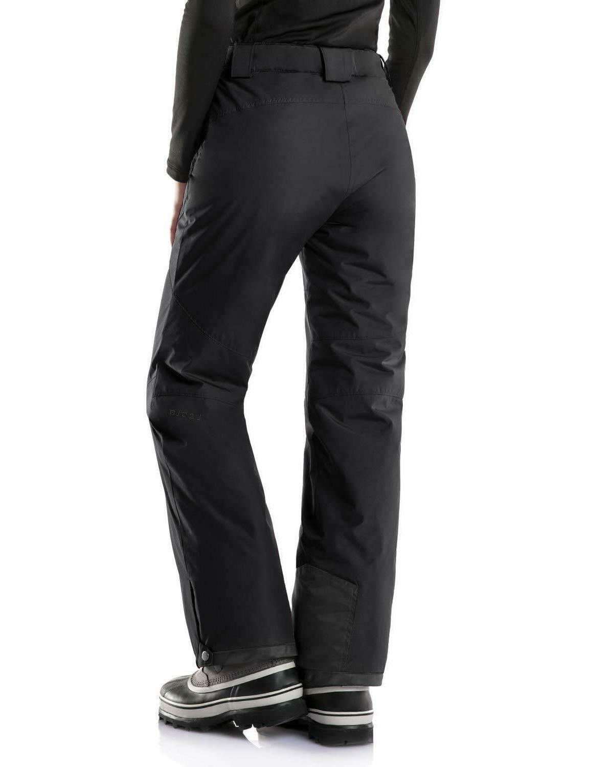 TSLA Women's Rip-Stop Snow Black New with Tags