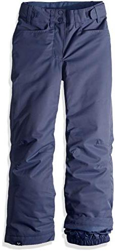 Roxy Little Backyard Girl Snow Pant, Crown Blue, 8/S