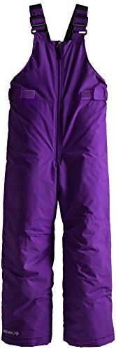 Columbia Big Girls'  Snowslope II Bib, Hyper Purple, Small