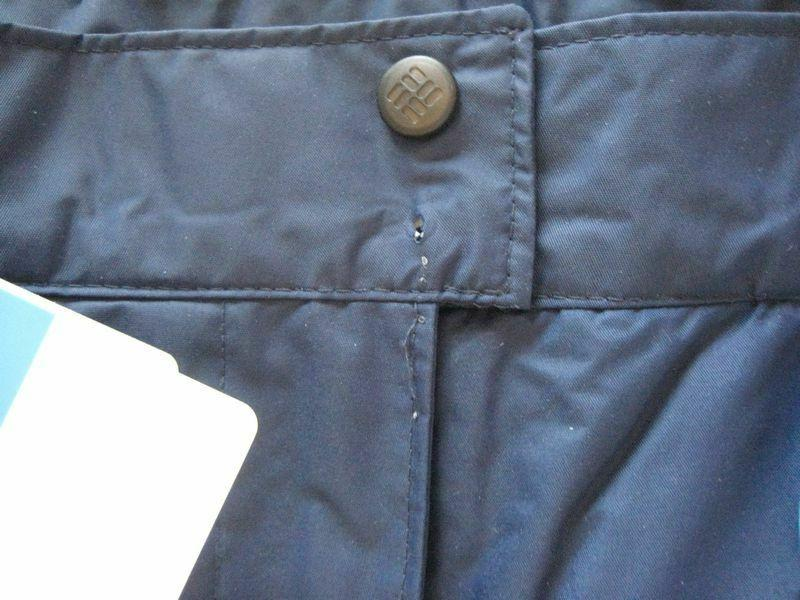 Columbia Gun Pant, Large - DEFECTIVE SNAP