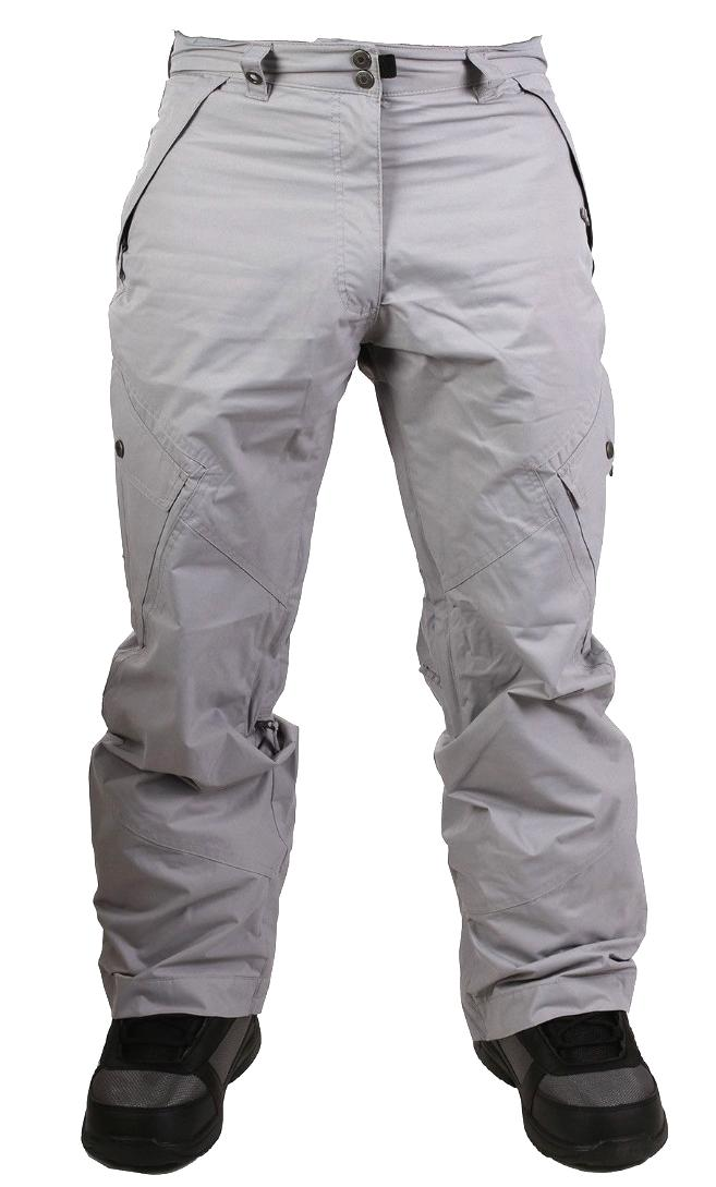 Men's Snow Ski Gray Insulated Ripzone