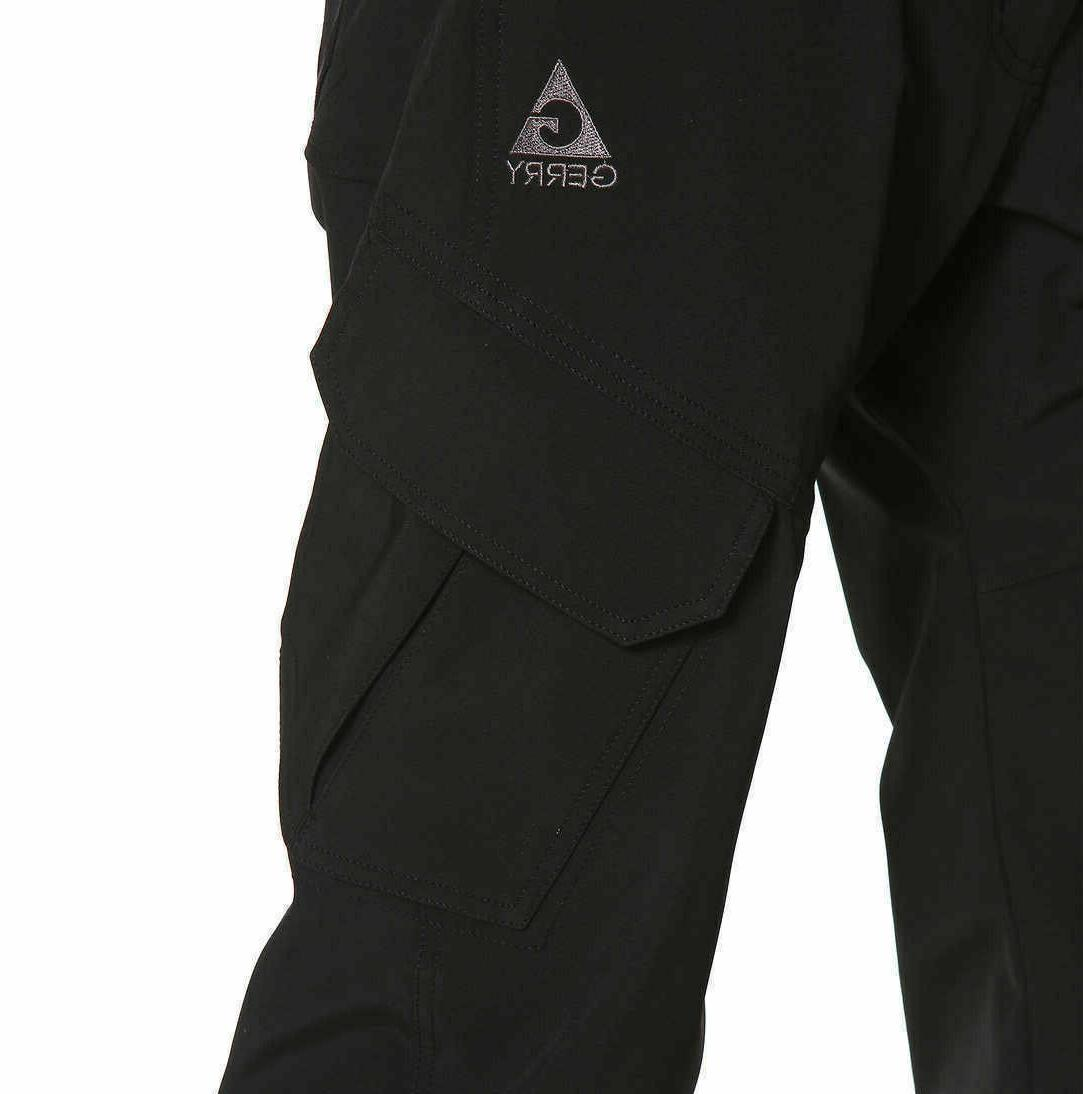 Gerry Men's Snow Pants with 4 Stretch Fabric