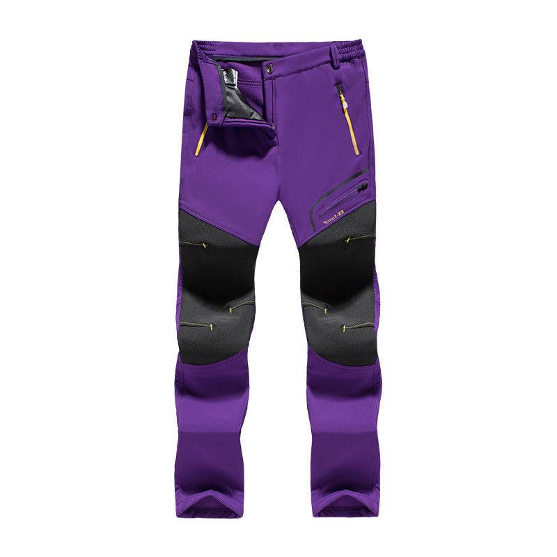 Men Women Pants Outdoor Warm Windproof Waterproof