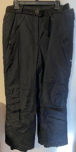 COLUMBIA Mens Large Black Ski Snow Snowboard Pants