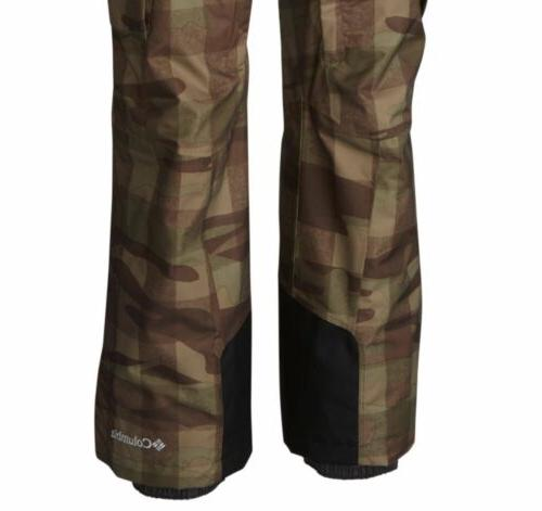 Columbia Mens Run Big Camouflage Snow
