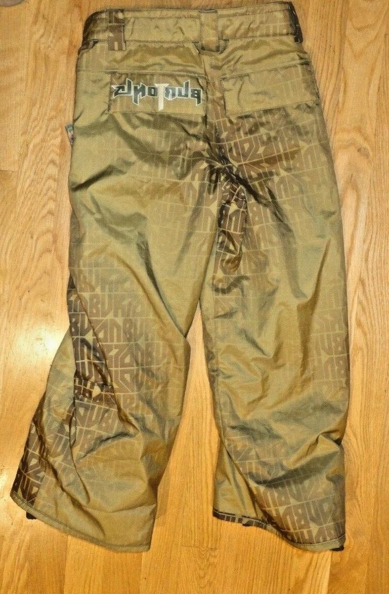 New Burton 5/6 Ski Snowboard Pants Tag