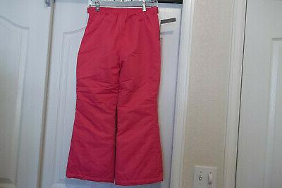 NEW GIRLS SWISS PINK SKI PANTS YOUTH