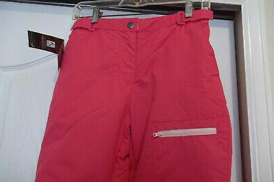 NEW GIRLS PINK SKI PANTS YOUTH