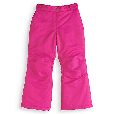 new girls pink ski snow snowboard pants
