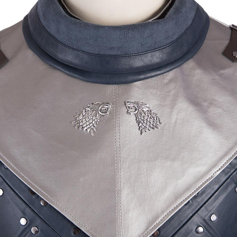 New Game Thrones Cosplay Costumes Snow Costume