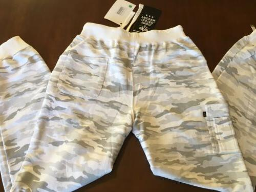 NEW ! Industries Pants Gray Snow Camo Size Large