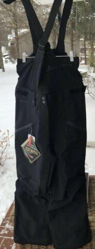 NEW Men's North Face FREE THINKER Ski Snow Pants Bibs Blac
