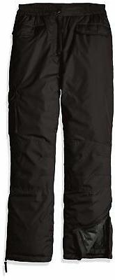iXtreme NEW Solid Black Boys Size 8-10 Zipper Fly Outdoor Sn