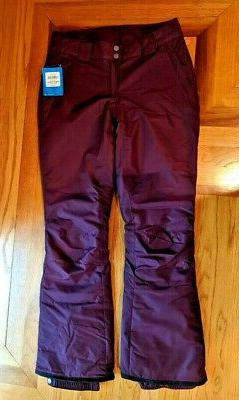 New Columbia Womens Snow Pants Small  On the Slope Waterproo