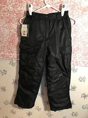 new youth insulated snow ski pants size