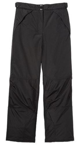 NWOT Boy's London Fog Classic Heavyweight Snow Pants/Black