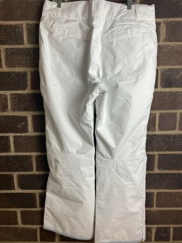 NWT Columbia BUGABOO II White Waterproof Ski XL