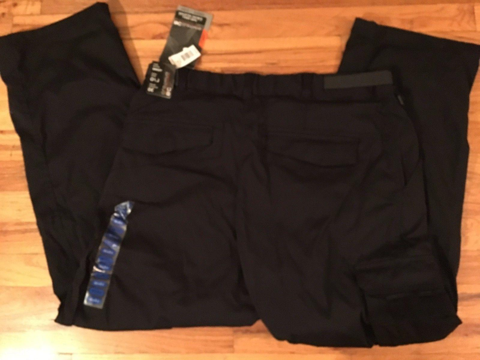 NWT BC Black Lined Winter Snow Cargo Pants LG-30