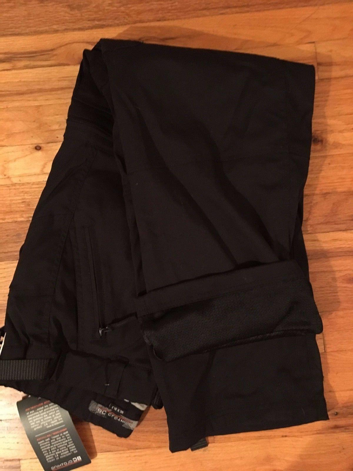NWT BC Clothing Men's Black Lined Work Snow LG-30