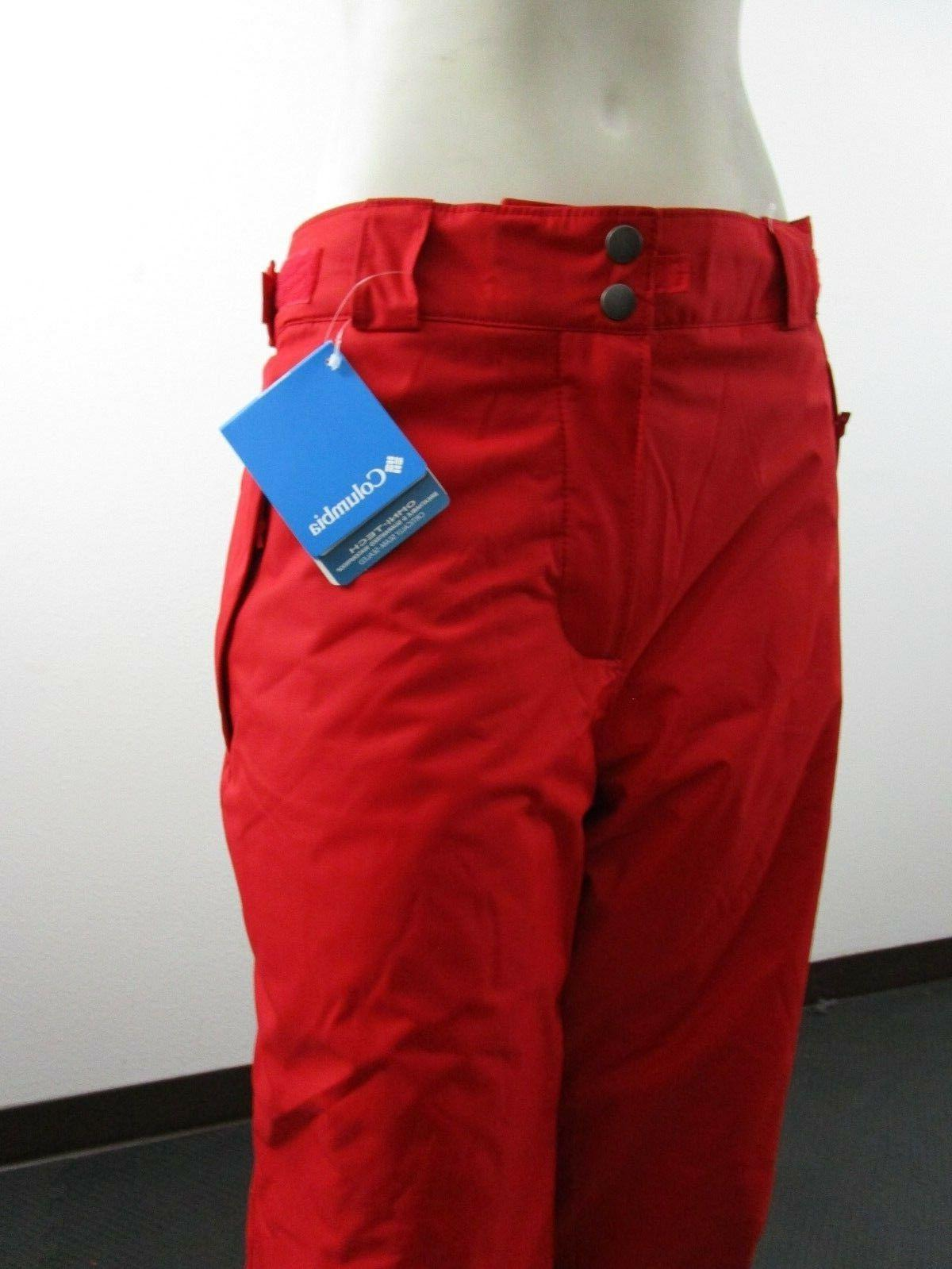 NWT Mens Arctic Trip Snow Pants Red