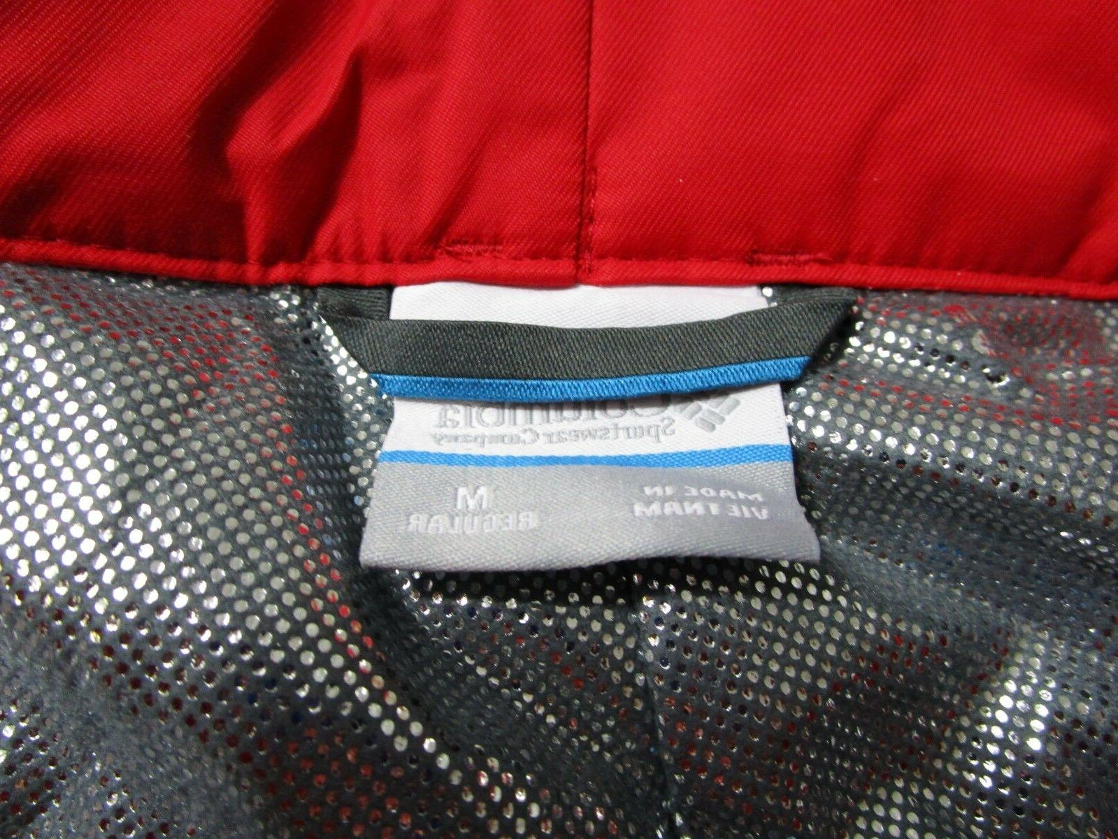 NWT Mens Trip Insulated Waterproof Snow Ski Pants Red