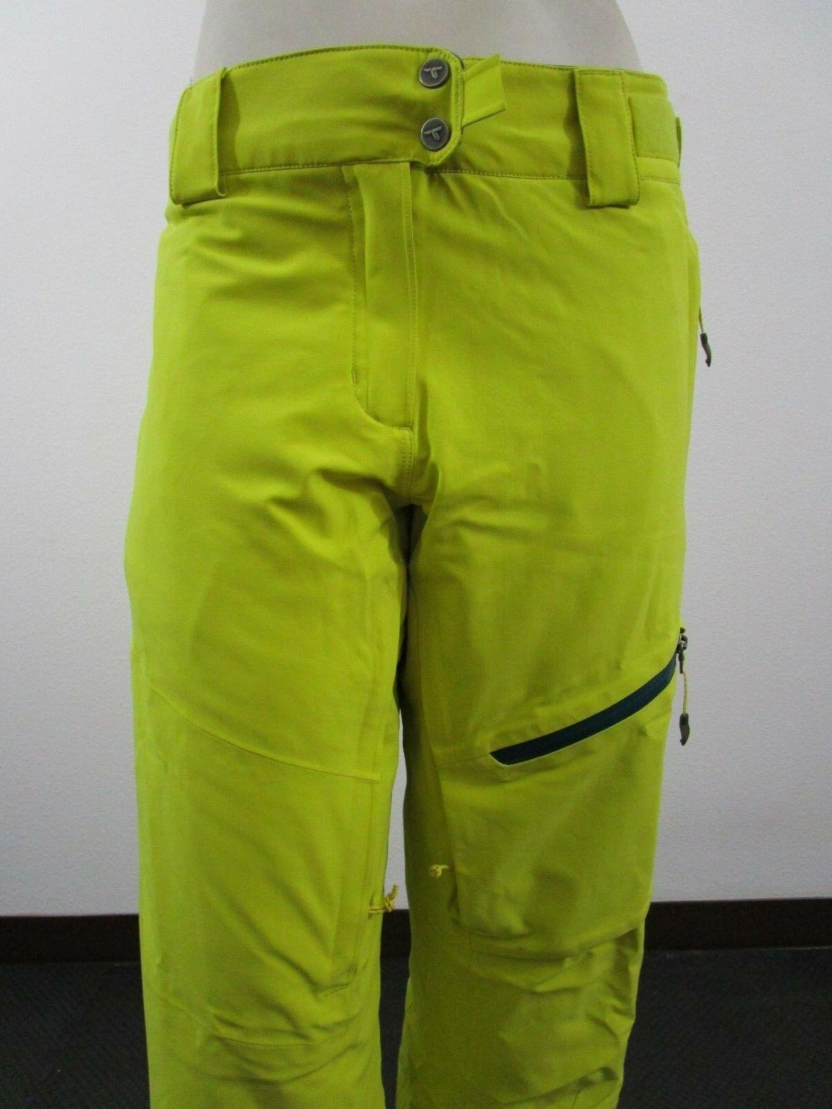 Titanium Zip Insulated Waterproof Snow Yellow