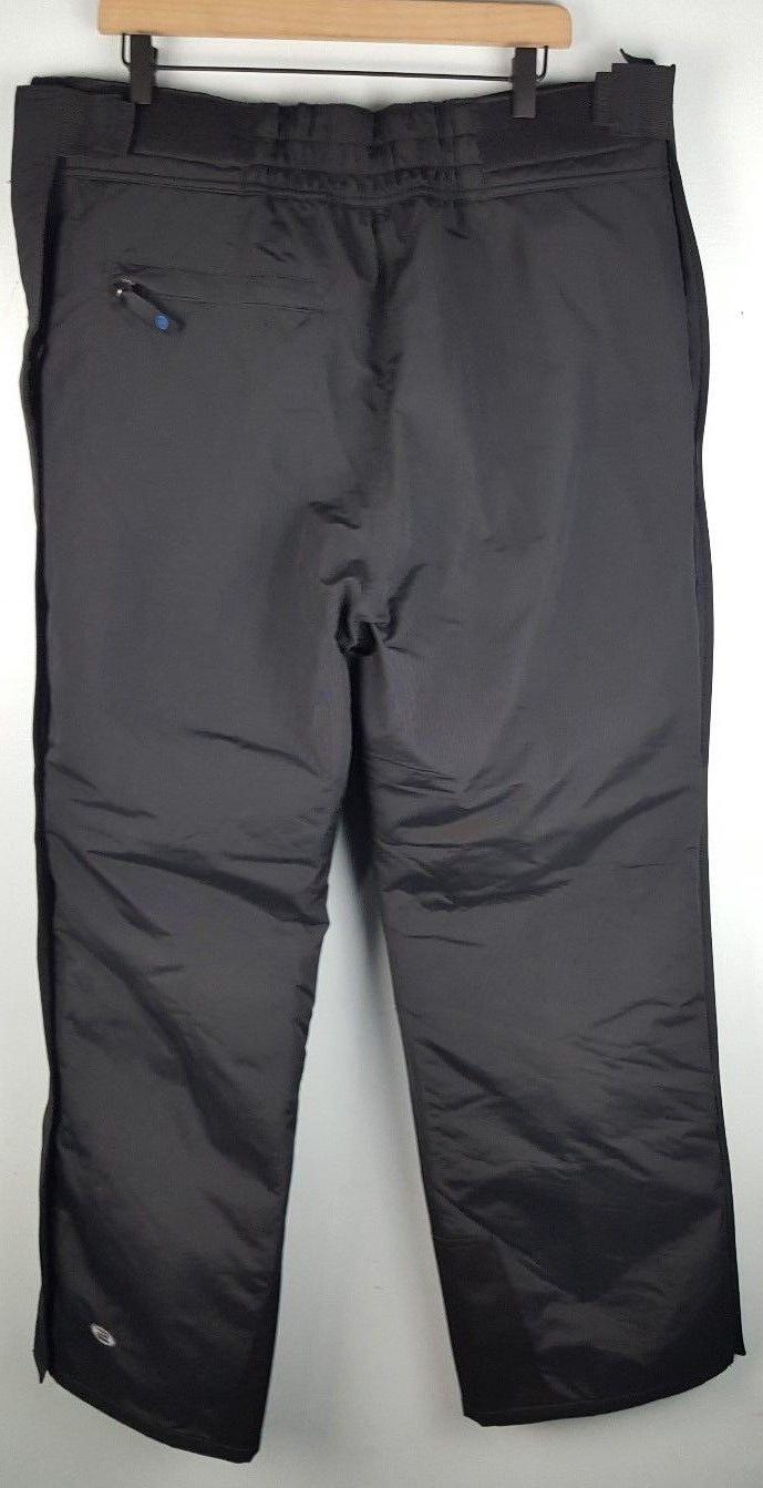 NWT Side Zip Large Black Insulated Proof $60