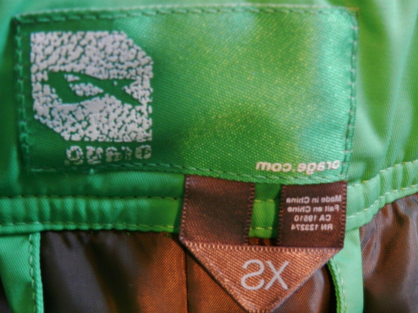NWT Lime Green Insulated Ski Snow