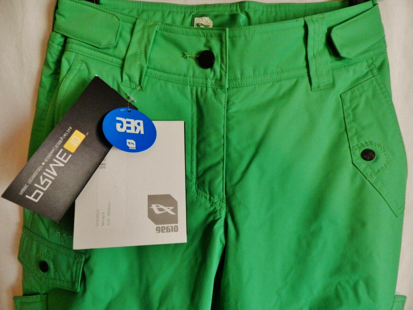 nwt prime women s lime green insulated