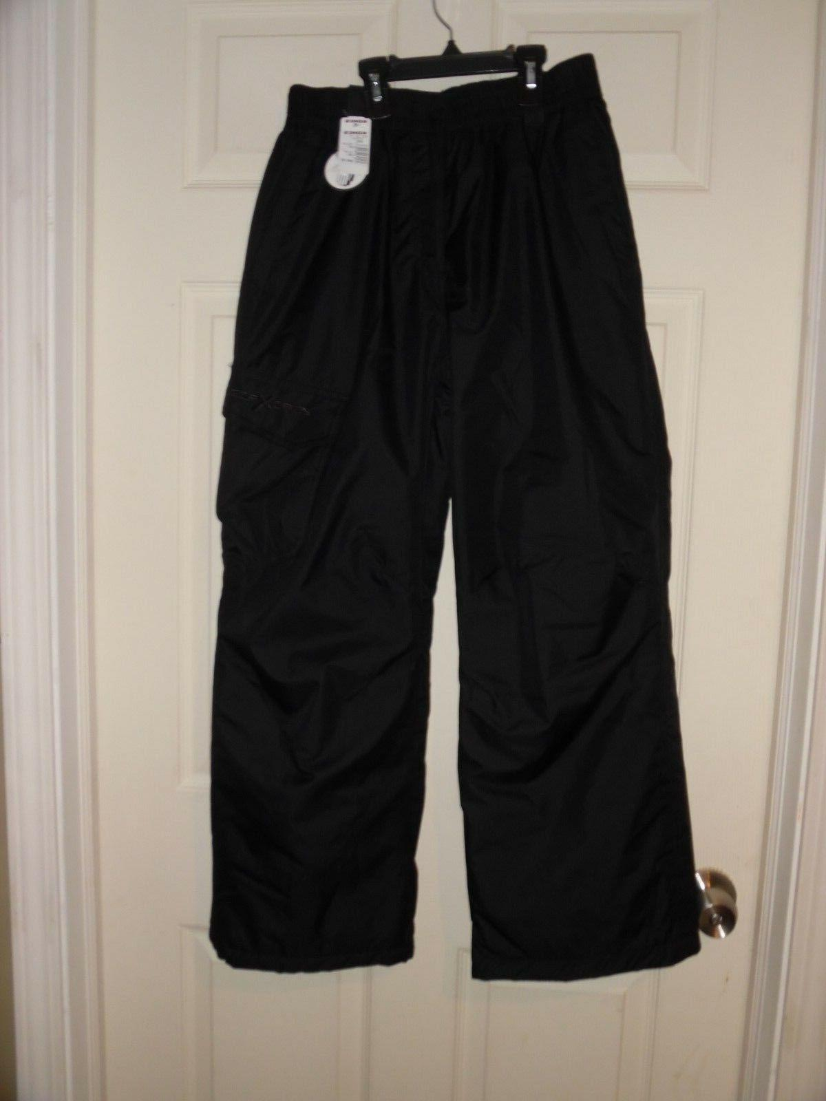 NWT Youth Size Large 14/16 Zero Xposur Snow Ski Pants Black