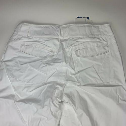 Columbia Omni Heat Pants Women's Size XL White Insulated Snow
