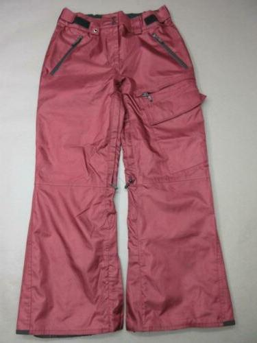 size s womens burgundy athletic outdoor outerwear