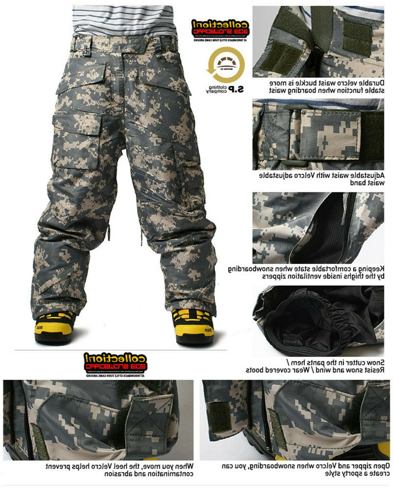 SOUTH Mens Ski SnowBoard Pants Trousers COLLECTION