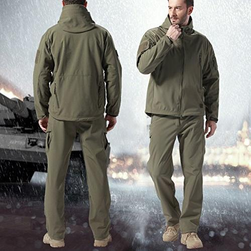 FREE SOLDIER Pants Fleece Lining for Winter Skiing Upgraded
