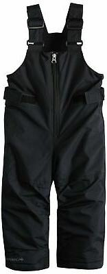 toddler boys snowslope ii bib black 3t