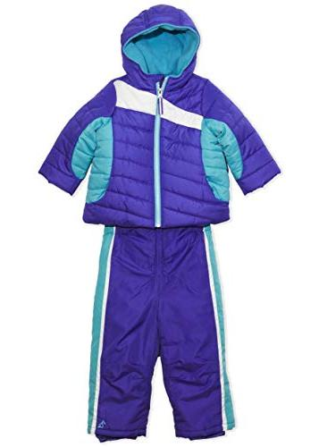 Arctic Infant Color Hood Pants Turquoise, 12M
