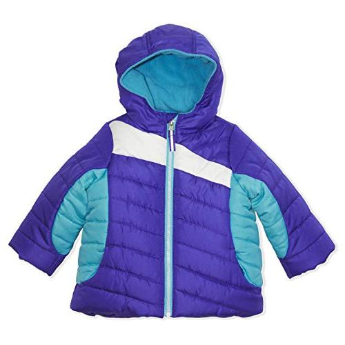 Arctic Quest Color Block Hood and Snow Pants Purple & Turquoise, 12M