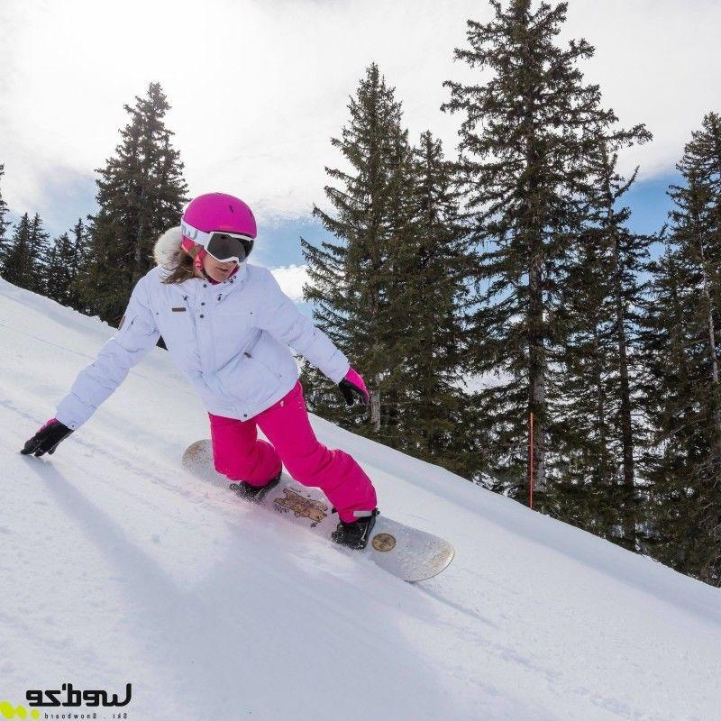 Wed'ze by Women's Pink Waterproof Ski/Snow Pants