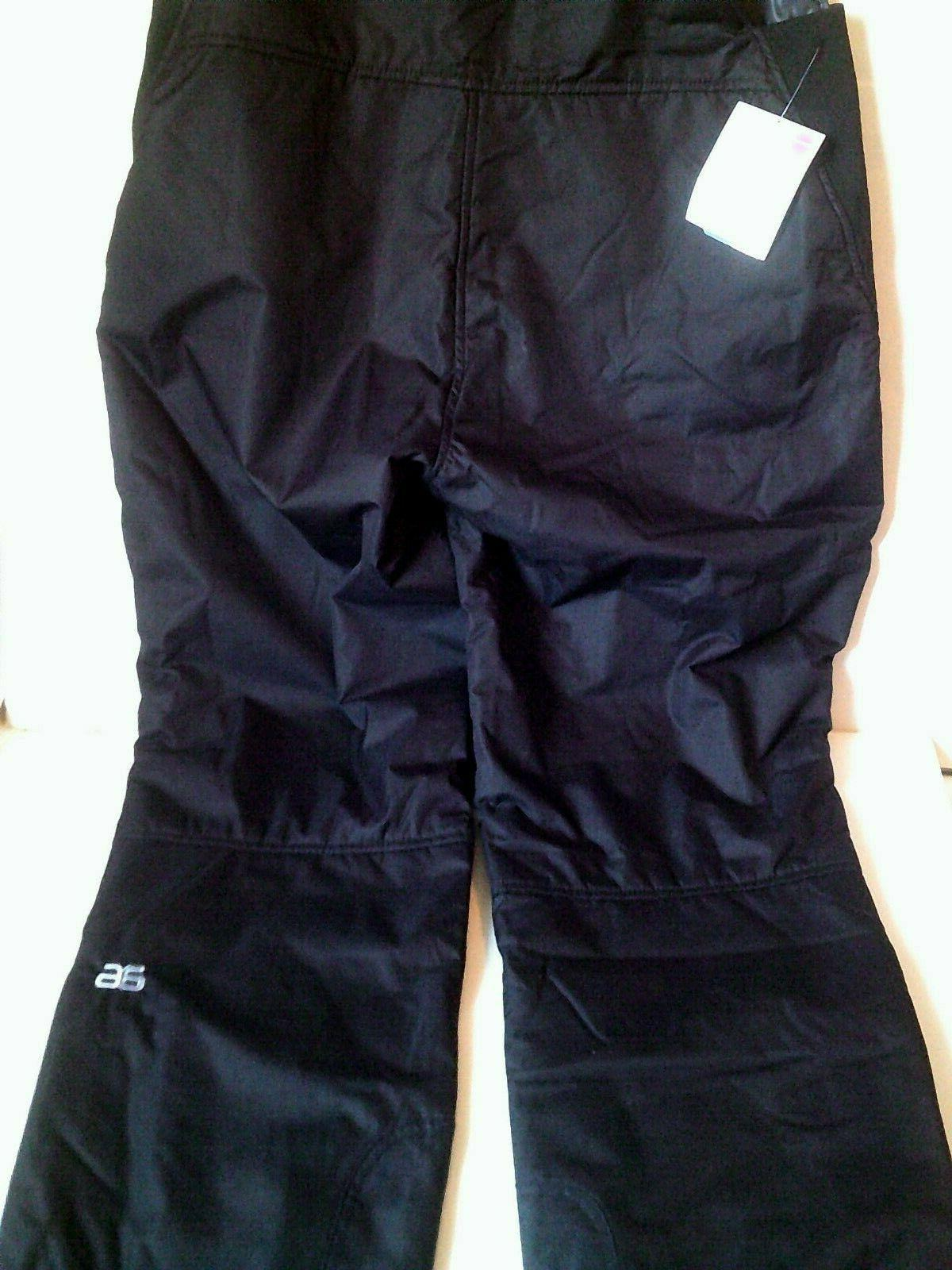 Arctix Women's Black Bib Overall Snow Pants Plus NWT