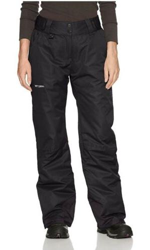 women s insulated snow pant black 2x